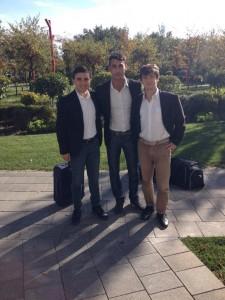 Antonino Palla, Ferdinando Toro, Dario Testaì arbitri per la Nazionale Under15 selezione sud