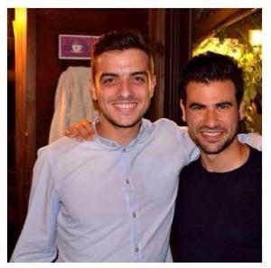 Claudio con Nino Santoro