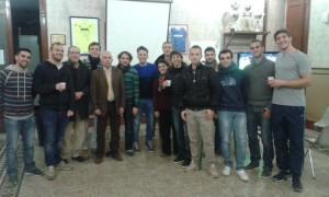 La sezione saluta il 2014 festeggiando un altro esordio: l'arbitro Roberto BUCOLO ha debuttato in Promozione
