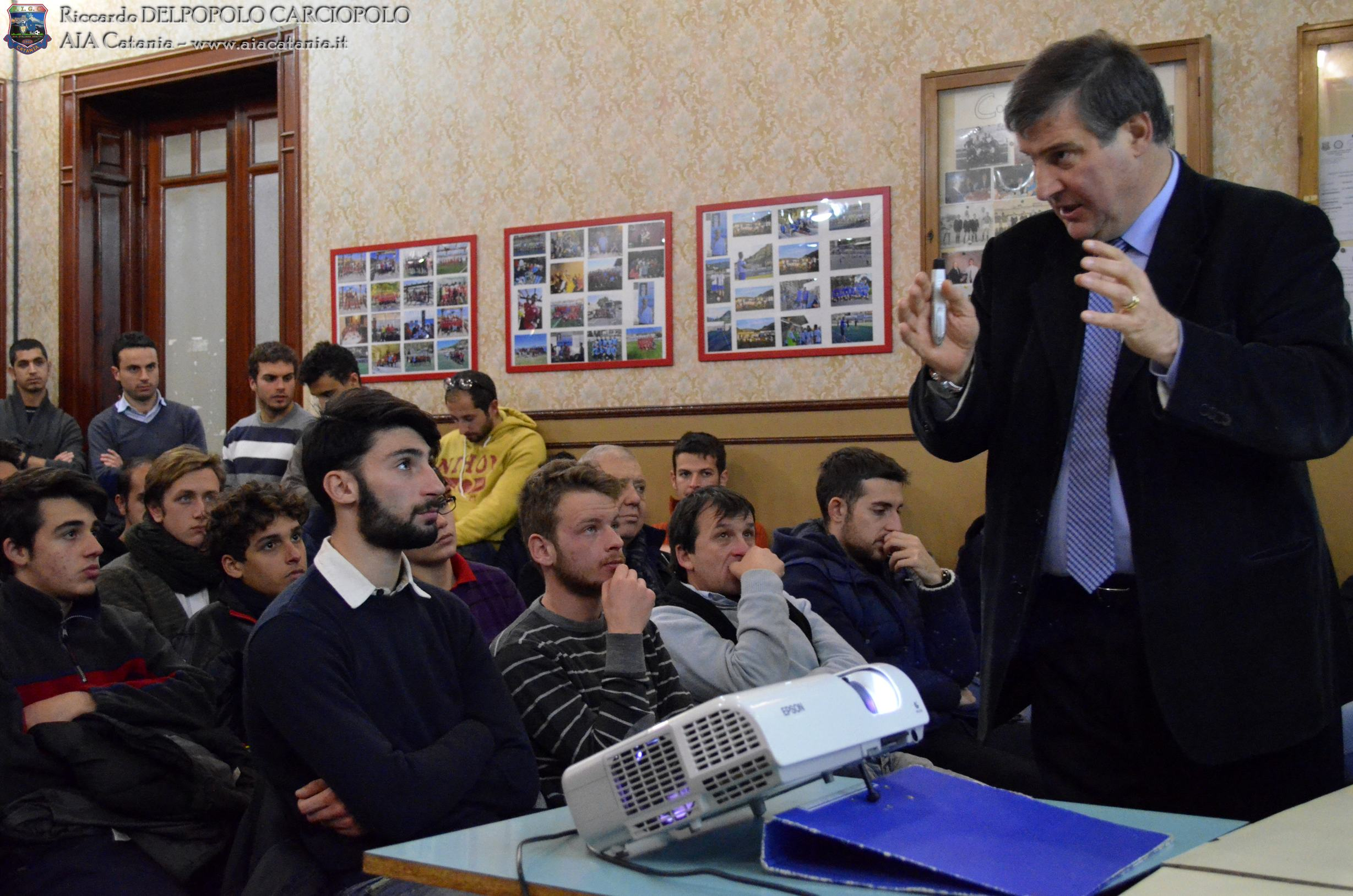 VITALE e alcuni interventi dei colleghi durante la riunione