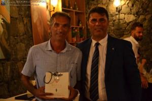 Il prof. Rosario CANNAVO' con il Presidente della sezione AIA di Catania Cirino LONGO