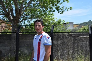 Marco Testaì con la divisa della squadra sezionale