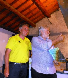 Aldo Bertelle e Gigi Agnolin