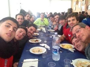 Il gruppo degli associati catanesi al raduno OTR ad Enna