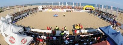 Dusmet Arena Stadium - Lido azzurro - Beach Soccer
