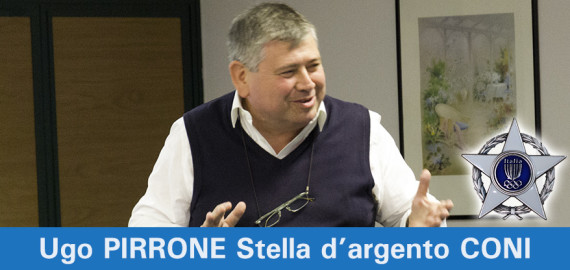 Ugo PIRRONE, Stella d'argento CONI