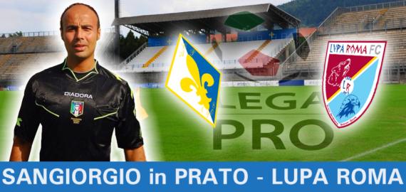 Salvatore SANGIORGIO in Play out PRATO - LUPA ROMA
