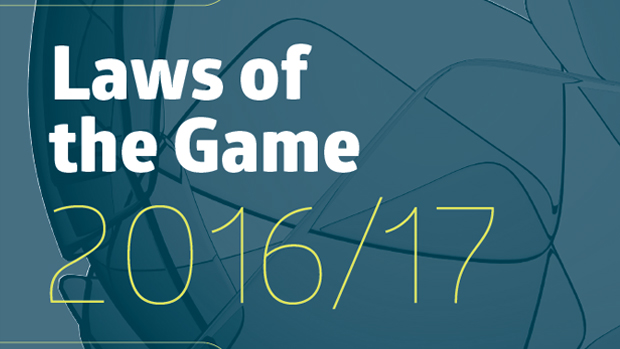 Laws of the Game 2016/17